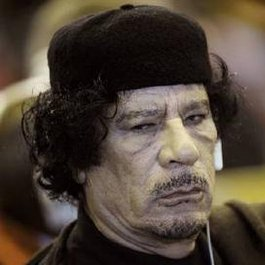 """Libyan """"leader"""" reportedly ditches Libya. Who'd take him?"""