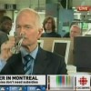 This is a screen capture from the CBC which was joining Jack Layton in drinking Kool Aid.