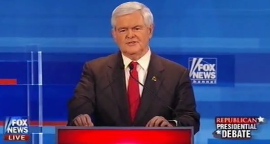Newt: Speak Bombastically and Carry a Tiny Stick