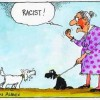 Racist-Dog-Granny-Cartoon