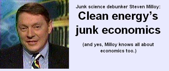 Clean energy's junk economics