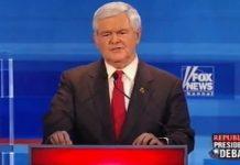 Newt Gingrich Fox News debate Dec 2011