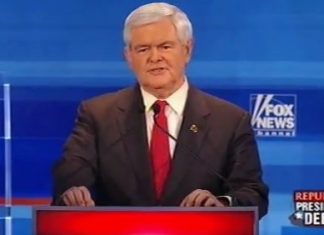 Newt Gingrich Fox News debate Dec 2011