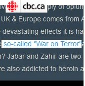 "So-called ""honor killings"" contrast with ""so-called"" war on terror."