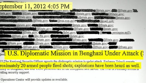 Benghazi: Obama and His Ilk Hung Chris Stevens and Others Out to Dry