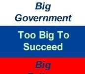big government: big failure