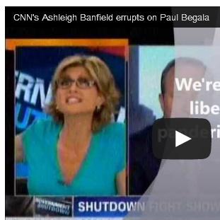 (Video) CNN's Ashleigh Banfield erupts on Paul Begala