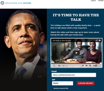 Obama lies and fakes you out to get Obamacare support