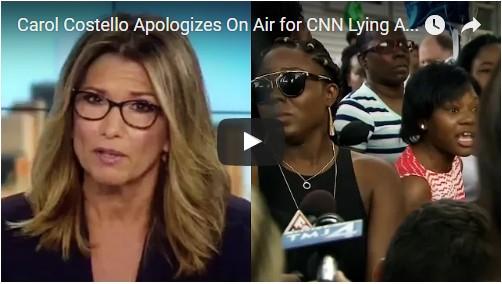 BRILLIANT take-down of CNN, a CNN reporter, a CNN anchor, and its hideously biased agenda-driven editing