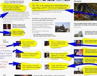 "Washington Post/Campaign to Elect Hillary Clinton ""News"" Paper"