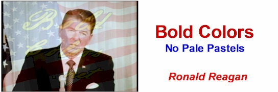 BoldColors.NET - No Pale Pastels. Speak like a bold Conservative
